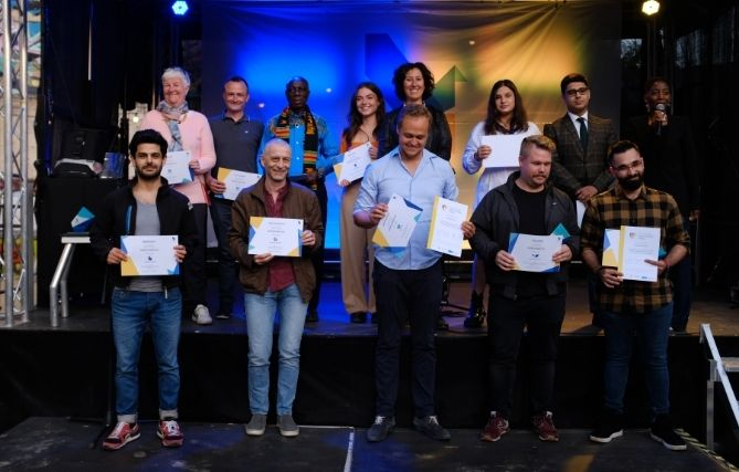 Finalist:innen und Gewinner:innen der Volunteer Awards